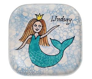 Bakersfield Mermaid Plate